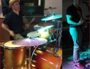 1er concert avec Adrien (batteur)